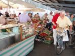 Sant'Ambrogio food morning market