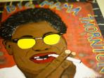 Big Mama Thornton by artist Dan Dalton
