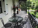 Front Porch Dining Area