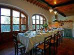 Common kitchen fully equipped to enjoy your Italian meals!