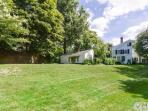 Beautiful, large landscaped backyard