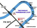 'The Horeshoe' is only 2 miles from our cottage! You don't want to miss this adventure!