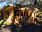 Studio late afternoon, sit outside and enjoy a glass of local wine from the region