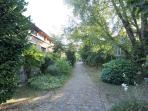 Private gated Garden leading to entrance. 22 artists houses/lofts