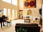 Spacious Living Room Main Floor