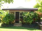 Separate bungalow set in the gardens