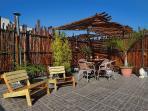 Private terrace and solarium apartment orange