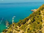 Scorci di costa tra Pisciotta e Ascea