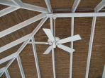 Boathouse ceiling detail