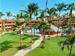 Courtyard area of Marina Sol Resort