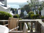 Estuary views from terrace