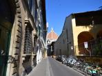 Via Oriuolo n.23, just 1 minutes by walk from the Duomo