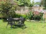 Relax in the private garden - another sun trap!