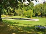 Garten/Parkanlage mit privatem Pool
