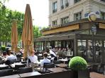 1 block away, The Vauban, a restaurant with a beautiful view of the Invalides.