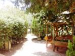 Giardino, particolare gazebo (piano terra)