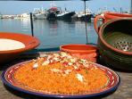 Piatto tipico, cous cous di pesce, carne o verdure