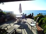 Gorgeous Pacific Ocean Views from the town home Living Room