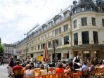 10 min walk, Le Bon Marché, a 4 stories luxury department store founded in 1838.