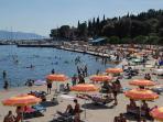 10 min walking, beach Icici