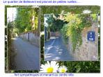 Les petites ruelles du quartier de 'Bellevent'