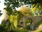 ruines Castel château de Ferrette