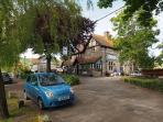 The Springhead pub in the village