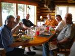 Dining at Birch Lake Lodge