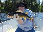 Pro Female Angler - Trophy Walleye