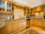 Beautiful cabinetry and flooring