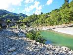 il fiume Santerno alla Pieve