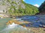 il fiume alla Pieve
