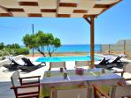 Patio, pool , sea views !!! You can not ask more.