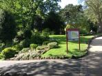 Roberts park in Saltaire world heritage site. Great for walks and relaxing