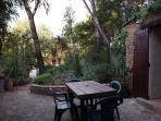 la terrasse et son environnement