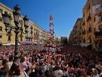 Folclore típico de Tarragona. Los Castells.
