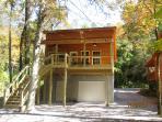 River Escape Rear of cabin
