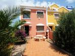 Recently redecorated three bedroom house with private garden including barbecue