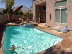 Pool shot.