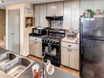 Kitchen is ready to prepare your family meals