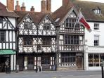 Visit Harvard House and the Shakespeare properties in Stratford