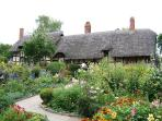 Just across the road is Anne Hathaway's Cottage - perhaps the most famous cottage in the world