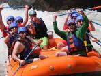 Rafting the Lower New with Adventures on the Gorge