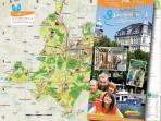 pensez à demander les pistes cyclables à l'office de tourisme de Sarreguemines, elles sont gratuites