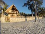 Villa Cool and its beach