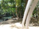 Beautiful tropical settings at Calypso Cove