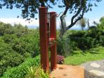 2 Private hot/cold Outdoor Showers with sensational views