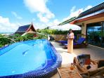Luxury service beside your own private secluded pool