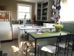 FULLY Stocked kitchen!  micro, toaster oven, coffee tea...
