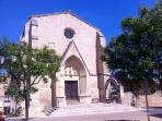 our 900-year-old village church